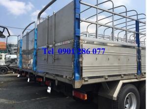 Xe tải thùng 4 chân DongFeng Hoàng Huy 17.9 tấn / giá cạnh tranh/hỗ trợ trả góp