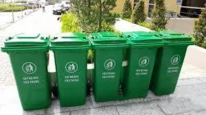 Phân phối thùng rác công cộng 120l