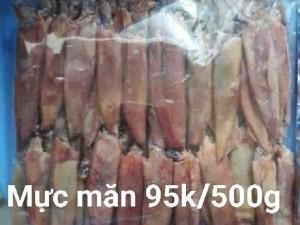 500g Mực mặn hảo hạng