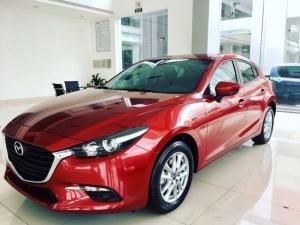 Mazda Bình Dương bán xe Mazda 3 1.5 Hatback màu Đỏ, có hàng giao ngay, trả trước 180tr