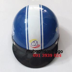 Đặt làm nón bảo hiểm in logo theo yêu cầu