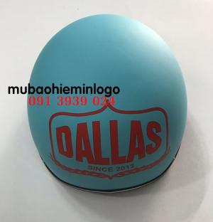 Dịch vụ in logo lên mũ bảo hiểm theo yêu cầu!