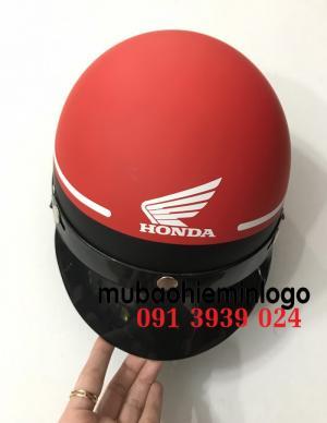 Dịch vụ đặt in mũ bảo hiểm theo yêu cầu, mũ bảo hiểm quà tặng tại tphcm