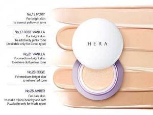 Phấn nước cao cấp Hera SPF34/PA++