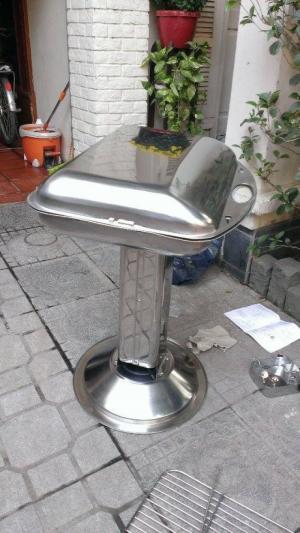 Bếp nướng than hoa inox có nắp đậy Phù Đổng Ck585