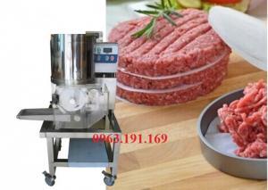Máy tạo hình chả cá, bò, gà, hamburger