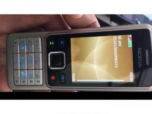 Nokia 6300 siêu zin hàng cũ zin 100 phím vỏ sườn zin