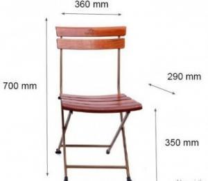 Thanh lý bộ bàn ghế cafe chân sắt sân vườn cao cấp-mn