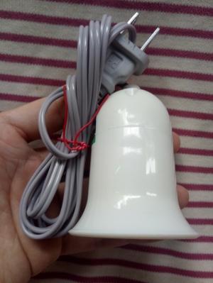 Đui đèn E27 có công tắc, dây cắm dài 1,5m