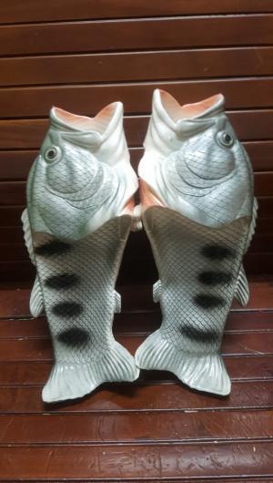 Dép cá đi biển màu xám bạc sale siêu hot cuối...