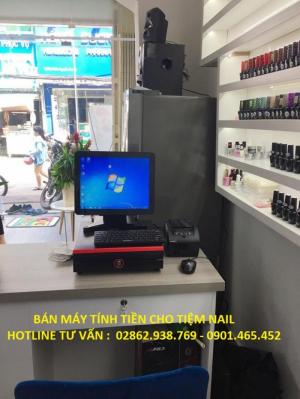 Bán Máy Tính Tiền Cảm ứng cho Tiệm Nail