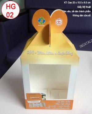In hộp Carton Cty TNHH Kim Nhật Long
