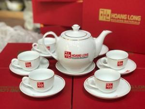 Ấm trà in logo đẹp - Quà tết 2019 Quảng bá thương hiệu công ty
