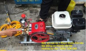 Thanh lý Máy phun thuốc trừ sâu Honda GX200 chính hãng giá cực rẻ