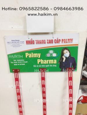 Trưng bày sản phẩm nhà thuốc, siêu thị