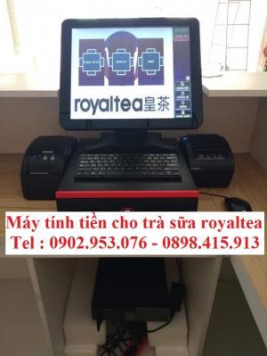 Nhận lắp đặt máy tính tiền cho quán trà sữa giá rẻ