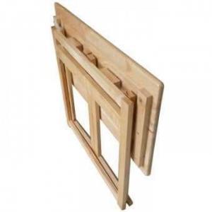 Bàn gỗ học sinh xếp nhỏ gọn