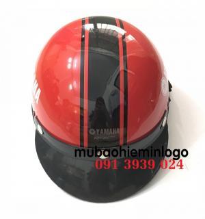 Báo giá in nón bảo hiểm xe máy, nón bảo hiểm honda, nón bảo hiểm in logo yamha