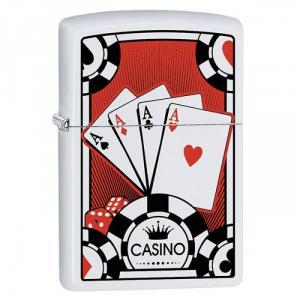 Bật lửa Zippo lá bài Casino Z187