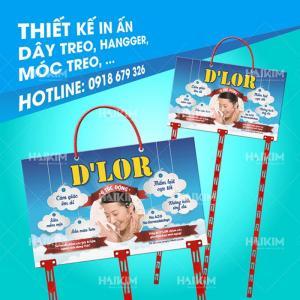 Hanger quảng cáo, tấm treo, bảng treo sản phẩm siêu thị tại Hà Nội