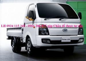 Bán xe tải huyndai HD 150 ^ 1500KG ^ 1,5 Tấn ^ 1 tấn 5 / giá cạnh tranh / trả góp lãi suất hấp dẫn