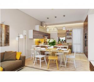 Thi công nội thất trọn gói căn hộ chung cư giá rẻ tại tpHCM
