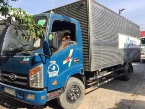 Bán xe tải Veam vt260 thùng kín dài 6m