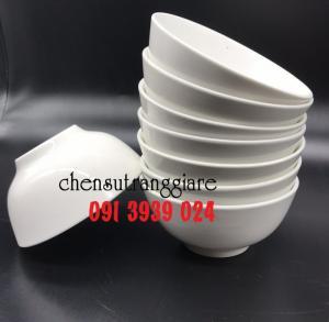 Chén sứ trắng in logo giá rẻ, in chén sứ trắng nhanh, in logo lên chén sứ trắng rẻ