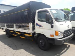 Giá xe tải Hyundai HD120SL 8 tấn thùng mui...