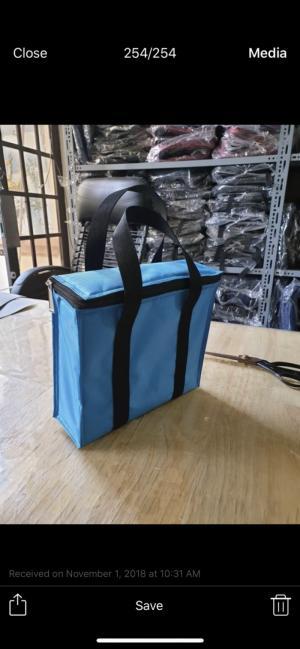 Túi giữ nhiệt in/thêu logo theo yêu cầu
