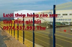 Sản xuất,gia công hàng rào sơn tĩnh điện giá rẻ