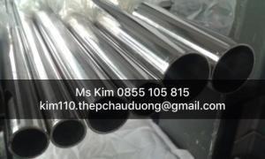 Ống Tròn Inox Sus316l/316l Size OD 19 – 400 mm, ID 12 – 390 mm