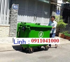 Bán thùng rác sỉ lẻ giá rẻ nhất khu vực Miền tay