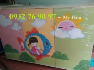 Tủ đựng chăn gối cho trẻ giá rẻ