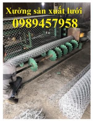 Sản xuất lưới B10, B20, B30, B40 mạ kẽm, bọc nhựa tại Hà Nội mới 100%