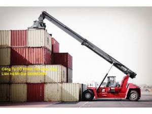 Ô tô Miền Nam mới về 9 xe Kalmar gắp container, 45 tấn giá rẻ, nhanh tay.