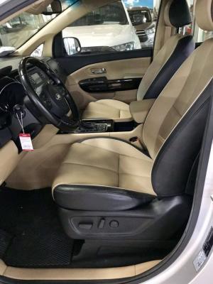 Kia Sedona 2014, số tự động, bản full, máy xăng, màu bạc