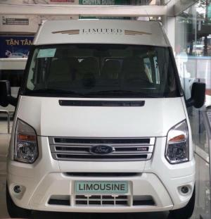 Giá xe Ford Transit SVP Limited 2019 16 chổ, trả trước 250 triệu, có xe giao ngay tại Ford Gia Định