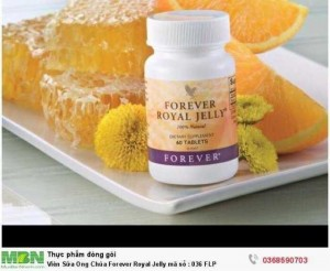 Viên Sữa Ong Chúa Forever Royal Jelly mã số : 036 FLP
