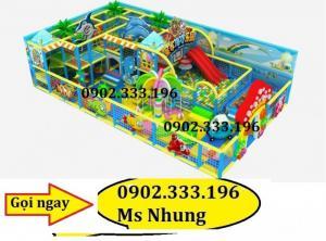 Đầu tư khu liên hoàn trong nhà, khu vui chơi trẻ em trong nhà giá rẻ