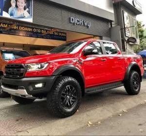 Ford Ranger Raptor 2019 màu đỏ, trả trước 300 triệu có xe giao ngay tại Ford Gia Định