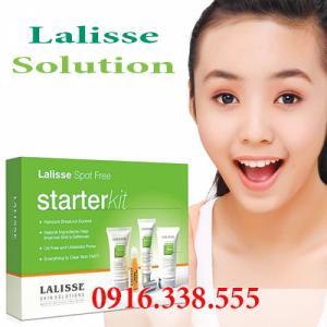 Bộ trị mụn Lalisse skin solutions Điều Trị Mụn Tối Ưu Lalisse Spot-Free Starter Kit