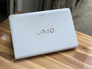 Laptop Sony Vaio SVE15, i5 3210M 4G 500G đèn phím màu trắng zin giá rẻ