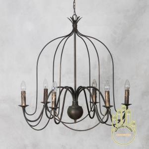 đèn chùm,đèn chùm phòng khách, đèn chùm phale, đèn chùm trang trí TPHCM