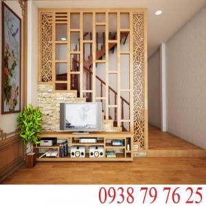 Xu hướng trang trí nhà bằng mẫu lam gỗ trang trí cầu thang đẹp