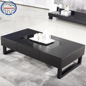 Bàn sofa tông màu đen sang trọng