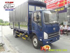 Xe tai Hyundai  7 tấn, thùng dài 6 mét 2, hỗ trợ trả góp.