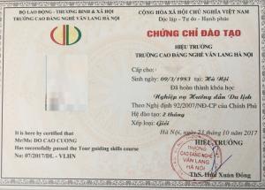 Khóa học chứng chỉ nghiệp vụ hướng dẫn viên du lịch để đổi thẻ