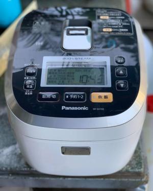 Nồi cơm Panasonic SR-SX102 (1LIT) ly nước (20O°C)