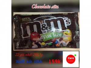 Chocolate M&M Fun Size cực tiết kiệm